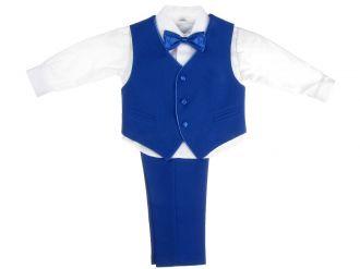 Детски костюм Пиер в синьо (от 9мес до 12г.)
