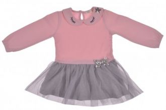Детска рокля с тюл (от 86см до 92см)