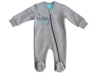 Бебешки гащеризон за момче с цип (от 50 до 62см.)