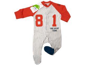 Модерен бебешки гащеризон за момче (от 50см до 62см)