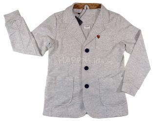 """Модерно сако """"Джентълмен"""" в сиво (от 98см. до 122см.)"""