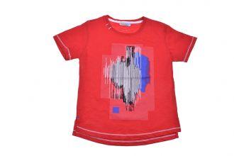 Детска блуза за момче в червено (от 7г. до 14г.)