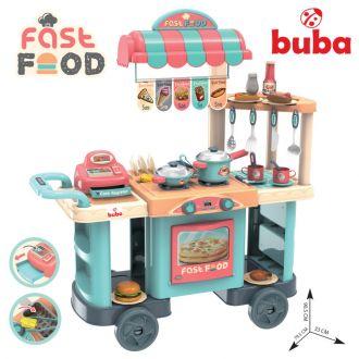Ресторант на колела Buba Kitchen trolley, Синя
