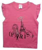 "Бебешка блуза ""Париж"""