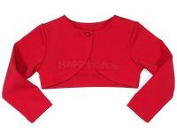 Детско болеро в червено (от 92 до 152см.)