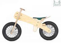 Колело за балансиране с зелена седалка - Buba Explorer
