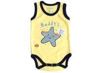 Бебешко боди потник за момче (от 50 до 92см.)