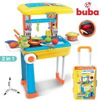 Детска кухня Buba Little Chef, Жълта/Синя