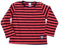 Памучна детска блуза на райе