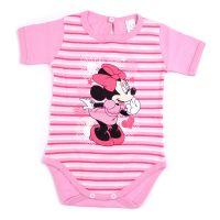 """Бебешко боди """"Мини Маус"""" в розово"""