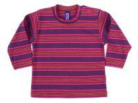 Памучна бебешка блуза за момиче