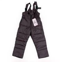 Детски зимен гащеризон в тъмно сиво (от 86 до 140см.)
