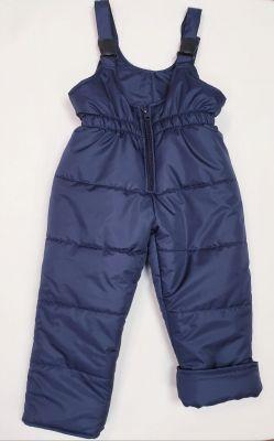Детски зимен гащеризон в тъмно синьо Вега М (от 80 до 122см.)