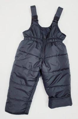 Детски зимен гащеризон в тъмно сиво Вега М (от 80 до 122см.)