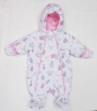 """Зимен бебешки ескимос """"Зайче"""" (от 56 до 86см.)"""