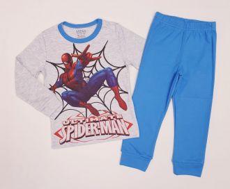 "Детска пижама ""Спайдърмен"" интерлог (от 92см до 128см)"