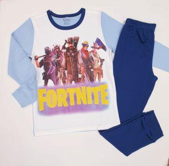 Детска пижама за Фортнайт интерлог (от 134см до 170см)