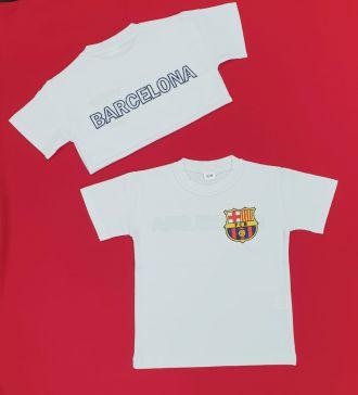 Детска тениска с емблемата на Барселона (от 62 до 176см.)
