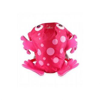 LittleLife SwimPak Жаба детска раница 10л. в розово