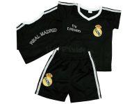 """Детски екип """"Реал Мадрид"""" - черен (от 62см до 176см)"""
