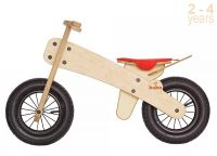 Колело за балансиране с червена седалка - Buba Explorer mini