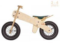 Колело за балансиране с зелена седалка - Buba Explorer mini