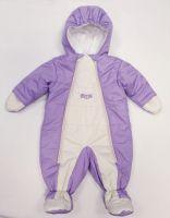 Бебешки ескимос в лилаво (от 56см до 86см)