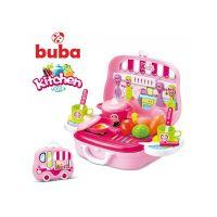 Малка детска кухня Buba Kitchen Cook, Розова