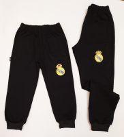 """Детско долнище """"Реал Мадрид"""" в черно за момче (от 104 до 146см.)"""