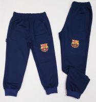 """Детско долнище """"Барселона"""" в тъмно синьо за момче (от 104 до 146см.)"""
