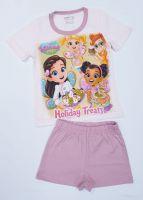 """Детска пижама с къс ръкав """"Кафенето на Масленка"""" (от 92 до 128см.)"""