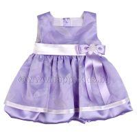 """Детска рокля """"Финес"""" в лилаво (6м. до 6г.)"""